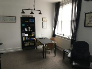 my Hypnotherapy Room